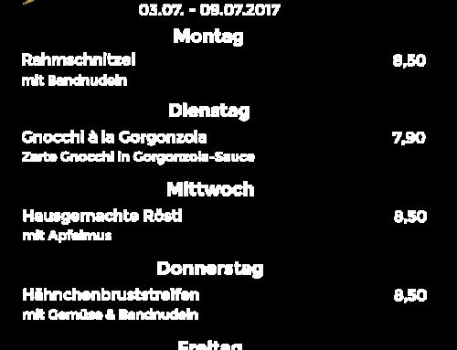 Wochenkarte KW 27